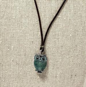 Jewelry - Necklace Bluish Owl.